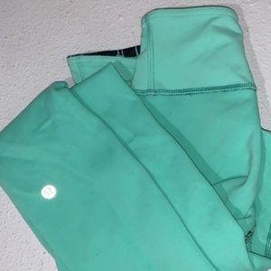 reversible lululemon leggings